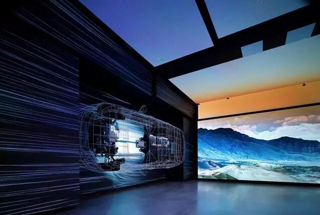"""汽车展厅一直以来都是艺术、科技、商业的完美综合体。 各家厂商的展厅也是互相比学赶超的节奏。 最著名的当属 Audi city,陆续在德国、北京、英国、俄罗斯开业。   Mercedes Me 也是从德国、俄罗斯、日本不远万里落户到了北京的三里屯。  BMW 早在 2008 年就已经建造了自己的博物馆。  其他厂家如保时捷、日产、英菲尼迪等都拥有自己的展厅,但都属于实物装饰为主的设计,所以就不一一列举了。  就在今年9月份,韩国现代集团重金打造""""Hyundai Motorstudio Hanam"""
